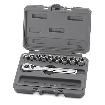 Craftsman 10 pc. 6 pt. 3/8 in. Metric Socket Wrench Set Free Shipping New