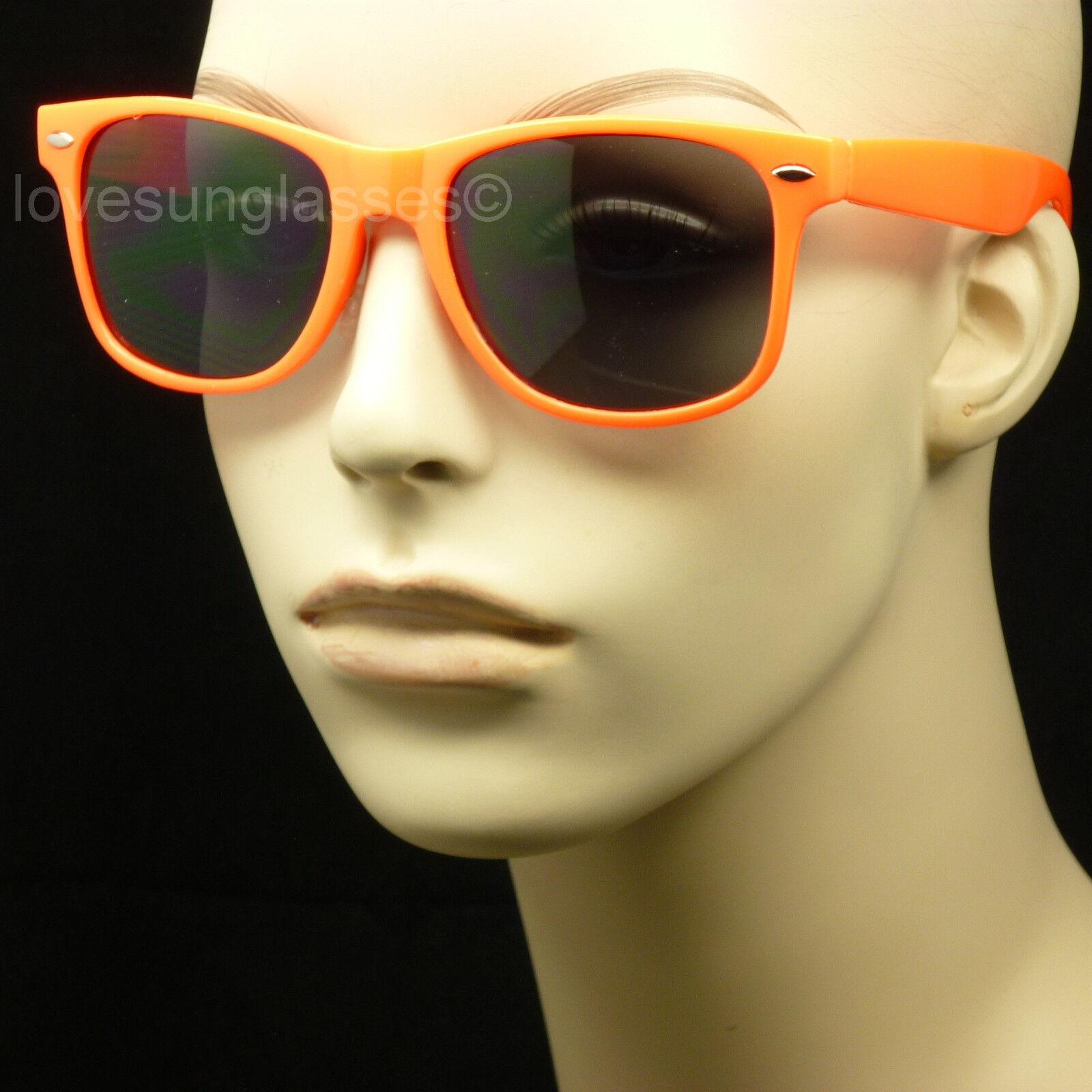 Orange frame gray lens