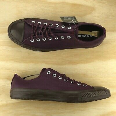 - Converse Chuck Taylor All Star Ox Leather Thermal Purple Sangria [157585C] Size