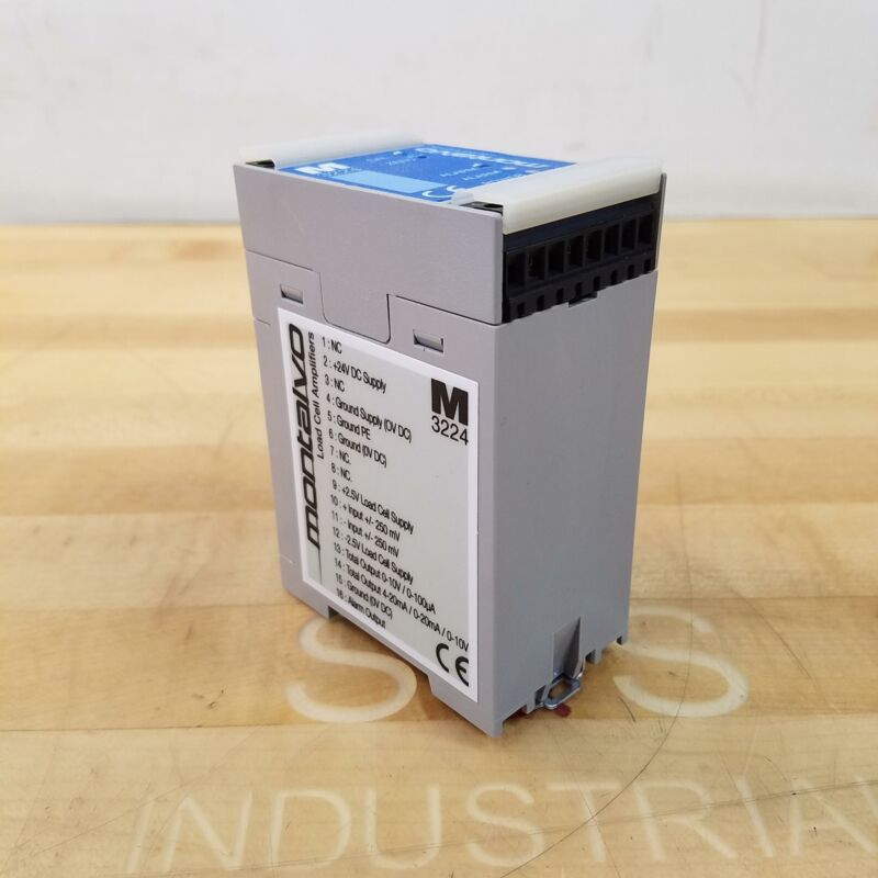 Montalvo 11000898 Load Cell Amplifier, 24VDC, 4W - USED