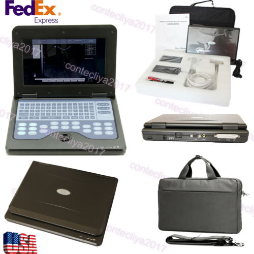 Usa Fedex,b-ultrasound Machine Systems Laptop Ultrasound Scaner+3.5 Convex Probe