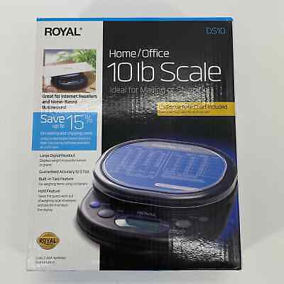 Royal Ds10 Home Office Small Package 10 Lb Scale New In Box
