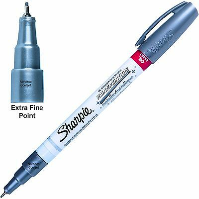 Metallic Silver Sharpie Oil Based Paint Marker 35533, Extra Fine Point