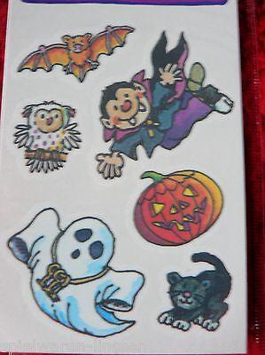 Halloween Tattoos Gespenst Eule Fledermaus Vampir Kürbis, Lutz Mauder, neu & ovp
