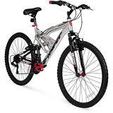 "Men's Mountain Bike 26"" Aluminum Frame Bicycle Shimano Full Suspension NEW"