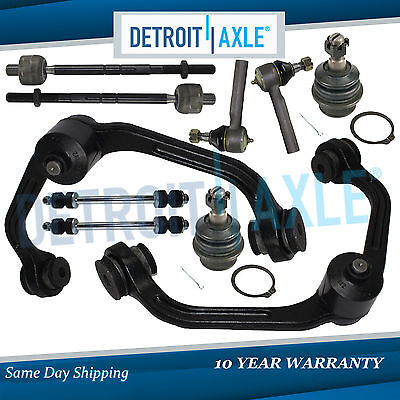 Brand New 10pc Complete Front Suspension Kit - 2WD ONLY w/Coil Spring Suspension