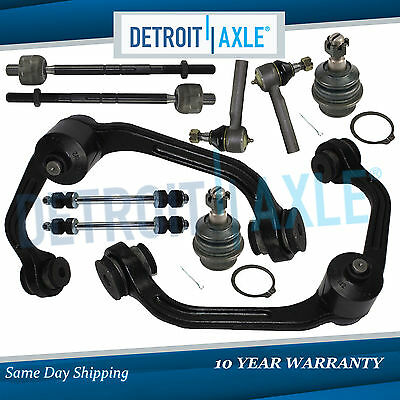 Brand New Complete 10pc Front Control Arm Suspension Kit for Ford Ranger 2WD