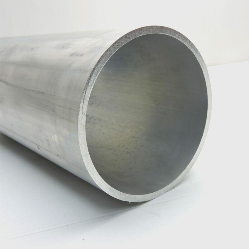 "6"" OD Aluminum Round Tubing 0.25"" wall thickness 4.625"" Long  QTY 2 sku174003"