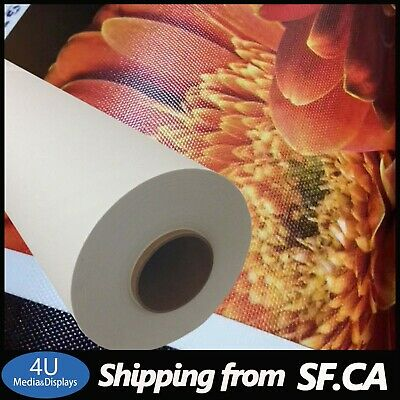 Poly-Cotton Waterproof Gloss Inkjet Canvas for HP Latex Printer 30
