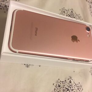 IPHONE 7 NEW 32gb rose gold