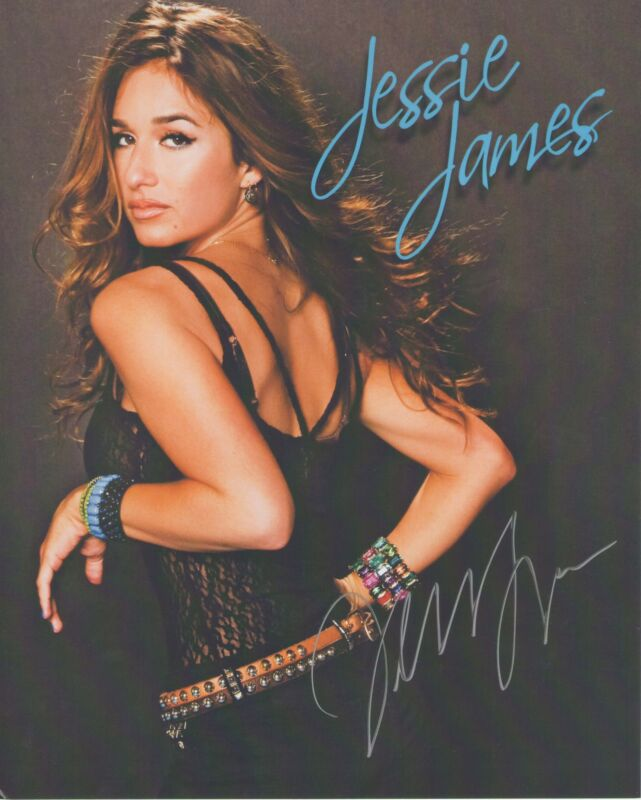 Jessie James *American Country Pop Star* Autographed Signed 8x10 Photo J2 COA