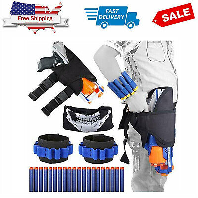 Tactical Nerf Waist Bag Holster Kit for Nerf Gun N-Strike Elite Series Blaster