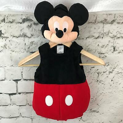 Disney Sz 3-6Mos Mickey Mouse Halloween Costume w/Gloves Shoes+ Bonus Bodysuit](Mickey Mouse Shoes Costume)