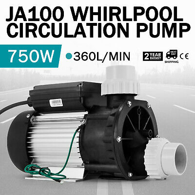 JA100 1HP Whirlpool Circulation Pump Hot Tub Update 360L/MIN Efficient