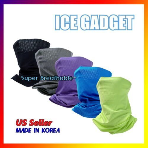 Cool Mesh Neck Gaiter Ultra Breathable Sun Shield Face Mask Tube Bandana