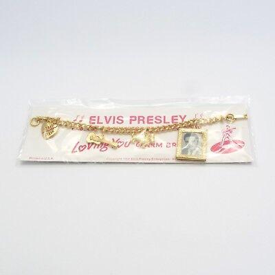 Elvis Presley Charm Bracelet 1956 Loving You MINT (Original Sealed Package)
