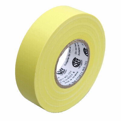 1 Roll Yellow Electrical Insulating Tape Vinyl 34 Inch 20 Yards Ul Listed