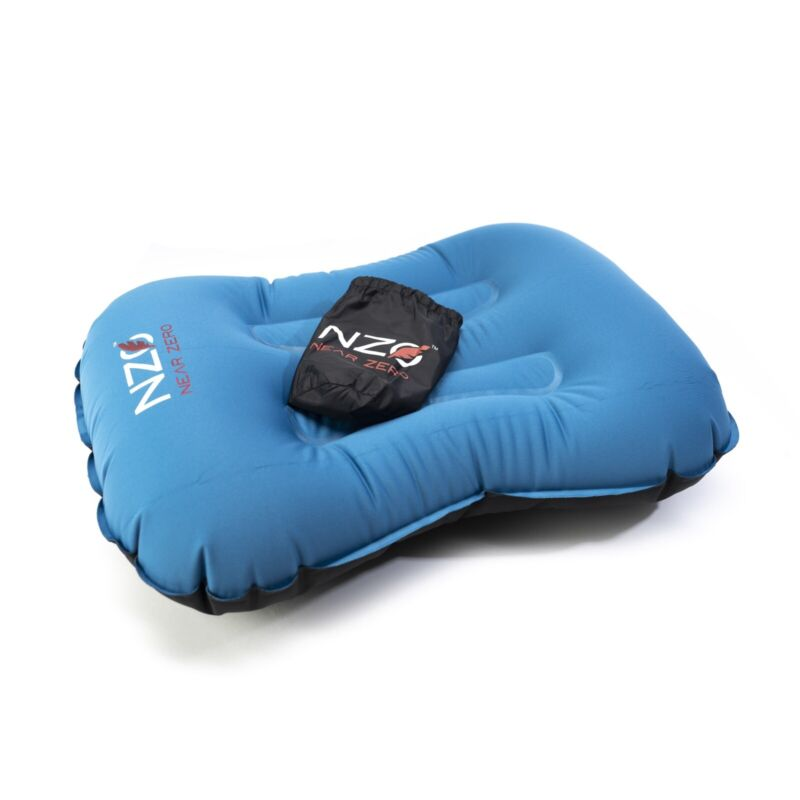 Near Zero - Camping Pillow, Inflatable, Ultralight, Compact, Comfortable, Travel