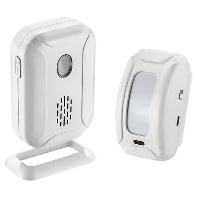 Wireless PIR Motion Sensor Detector Alarm Door Chime For Home Store Business