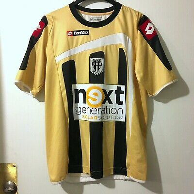 SCO Angers 2009 Lotto Men's XL Soccer Jersey 90 ANS Years Limited Edition No 996 image