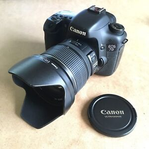 Canon EOS 7D DSLR Camera with 15-85mm EF-S USM IS Lens