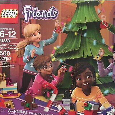 Lego Friends Christmas Advent Calendar 41353 24 gifts to make