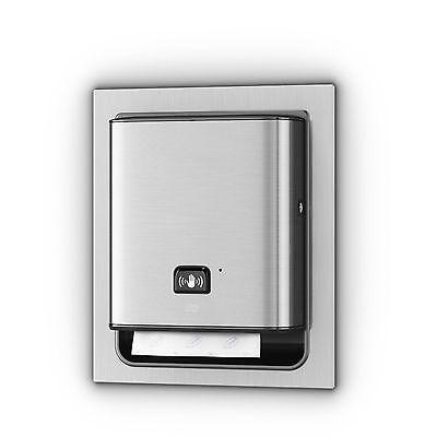 Ada Compliant Version. Trk461123 Automatic Tork Towel Dispenser Sleek Steel