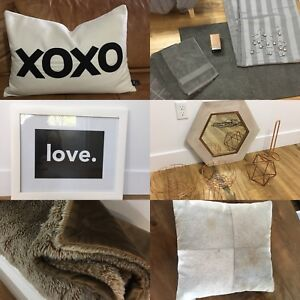 Modern home items! Like new!