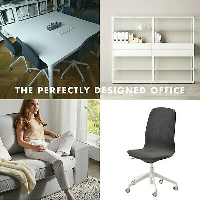 The Perfect Ikea Office Furniture Set - Conference Table Chairs Shelfs More