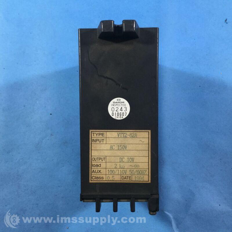 Daiichi Keiki VTT2-82A Transducer USIP