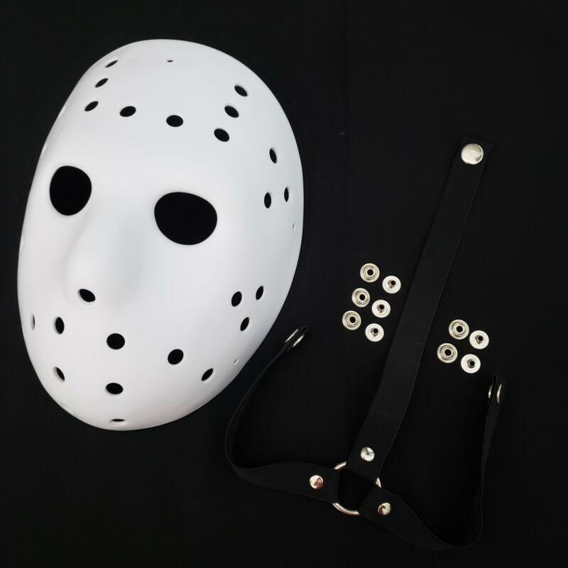 Mask Jason Remake Blank Precut + Straps Friday the 13th Jason Voorhees