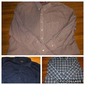 Men's 3XLT Button Down Shirts