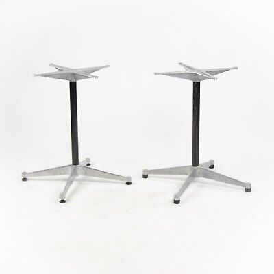 Vintage Eames Herman Miller Aluminum Group Dining Table Bases Sets Available! for sale  Hershey