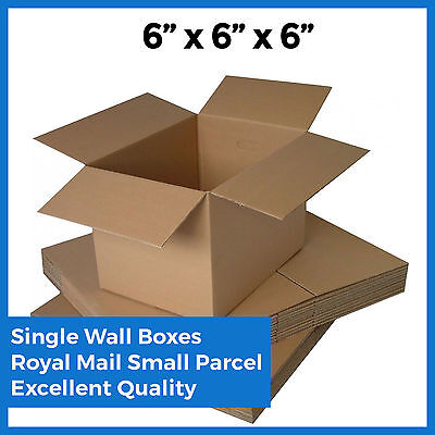 50x Mailing Postal Boxes - 6x6x6