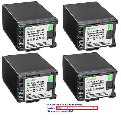 Kastar Replacement Battery for Canon BP-820 BP-828 & Canon XA11 Video Camera