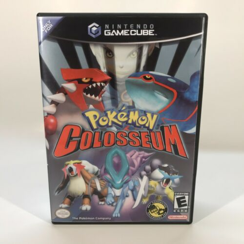 GameCube Reproduction Case - NO GAME - Pokemon Colosseum