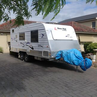 New Age Oz Classic 20E, Semi Off Road Caravan