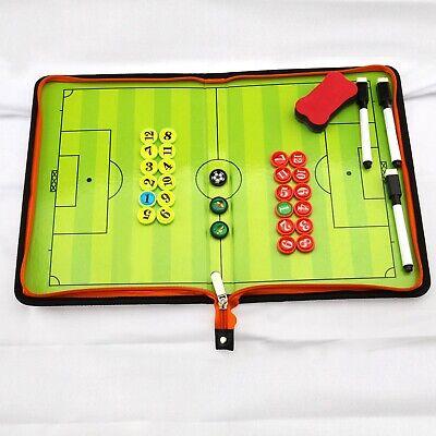 1x Fußball Taktiktafel + 27x Magnete + 3x Markierungsstift + 1x Radiergummi