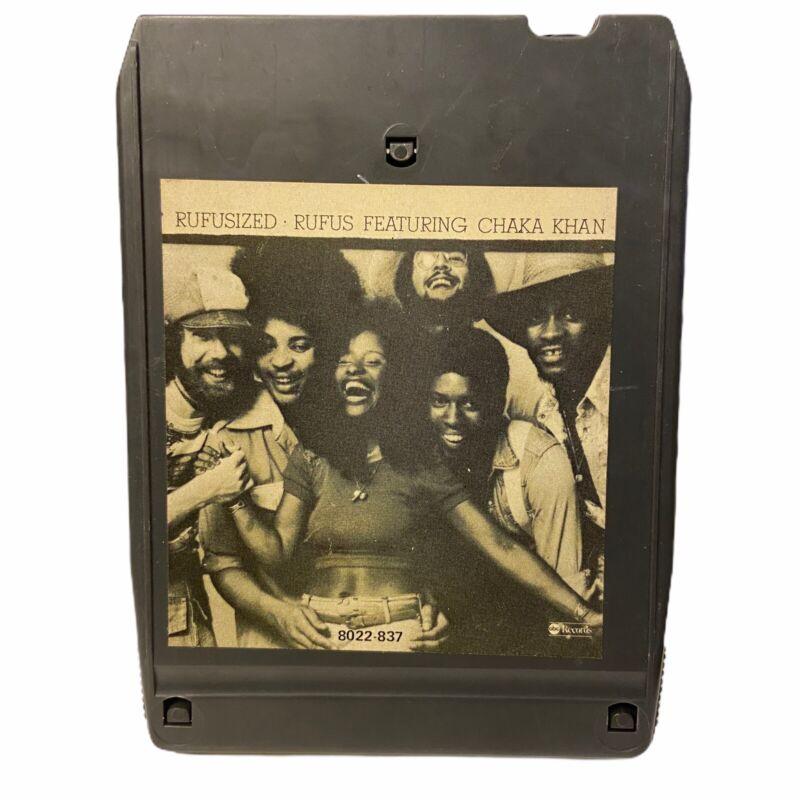 Rufus Refusized 8 Track Tested & Works 1974