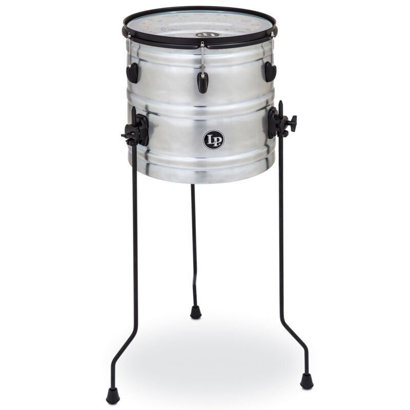 "Latin Percussion LP Raw Street Cans 14"" Street Can"