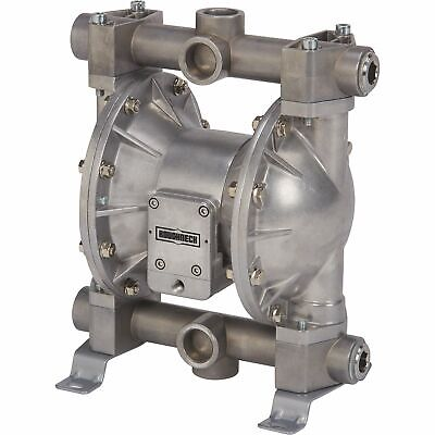 Roughneck Air-operated Double Diaphragm Oil Pump - 24 Gpm 1in. Inlet And Outlet