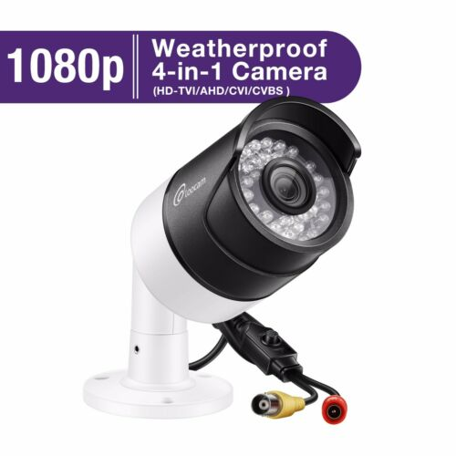 HD CCTV Surveillance Camera Security 1080p 4in1 HD Outdoor 150FT Night Vision