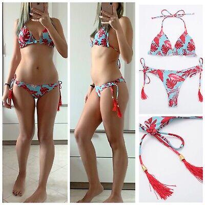 Costume da bagno Donna bikini fiori