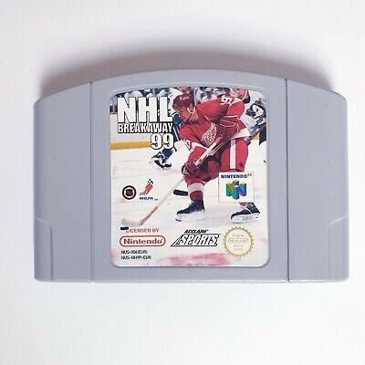 NHL Breakaway 99 - Nintendo 64 N64 Game PAL - Free Postage
