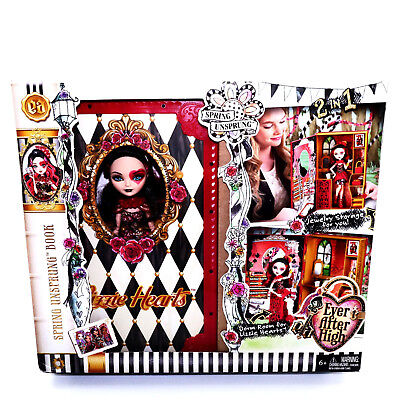 Ever After High Doll Lizzie Hearts Playset Spring Unsprung Book Toys Girls 6 7