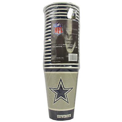New NFL Dallas Cowboys 20 Disposable 16oz Paper Cups Party-Ware - Dallas Cowboys Party Supplies