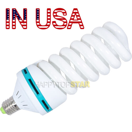 150W Watts 120/110V Photo Video Studio Continuous Day-light Lamp Bulbs Tubes CFL