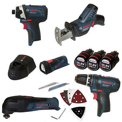 Bosch Five-Tool-Set mit GSA, GOP, GLI, GDR, GSR - OHNE L-Boxx Gr. 3 - NUR INHALT