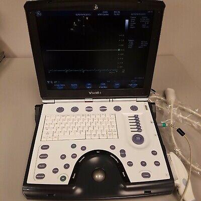 Ge Vivid I Portable Ultrasound System