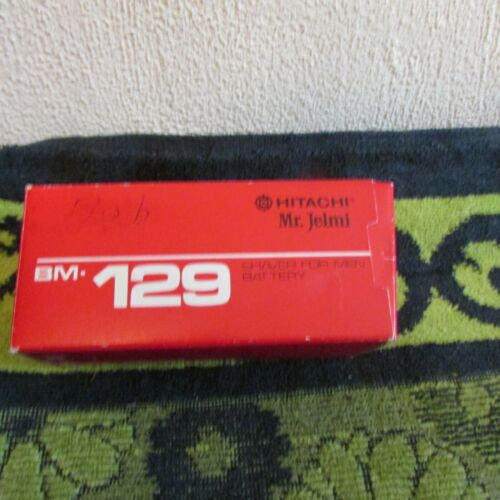 Working, Vintage Japanese Hitachi Mr. Jelmi Battery Operated, Portable Shaver